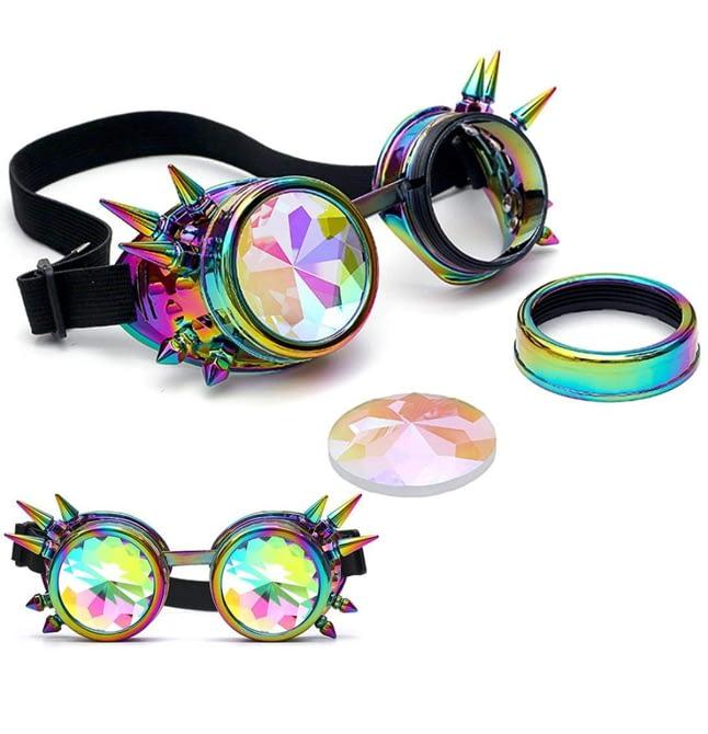 Gafas caleidoscopio